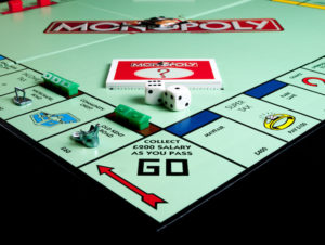 Monopoly Board - How did the Budget Affect Property Investors?